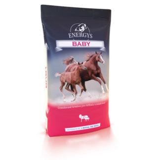 Granulat dla źrebiąt i koni rosnących - Energys Baby 25kg
