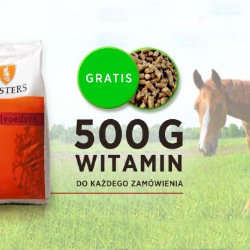Witaminy dla koni 500g GRATIS do każdego zamówienia!