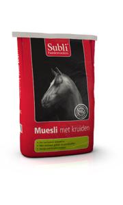 Muesli met Kruiden - ziołowe musli dla koni