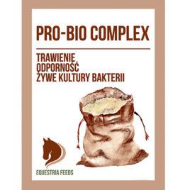 Drożdże paszowe dla koni mieszanka probiotyków dla koni