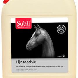Lijnzaadoile – Olej lniany na zimno tłoczony.