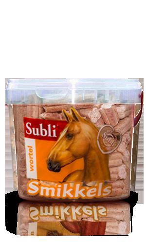 smikeels marchewkowe smaczki dla koni subli