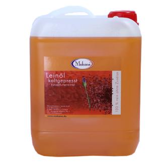 Olej lniany Makana 5l olej dla koni nienasycone kwasy tłuszczowe, poprawa trawienia