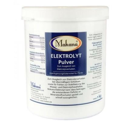 Elektrolity w proszku Makana 1kg suplement dla koni