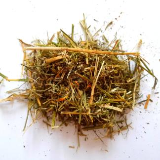 Sieczka ziolowa z lucerny dla koni 10kg olejowana olejem lnianym