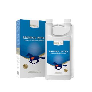 HorseLinePRO Respirol Intro 1000ml - naturalny syrop na kaszel dla koni